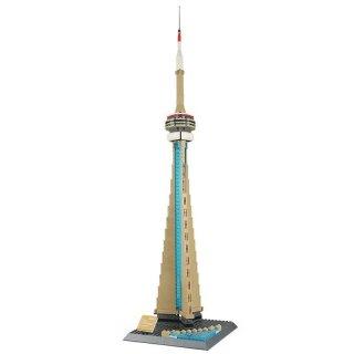 Wange 4215 Architektur CN Tower von Toronto Klemmbaustein