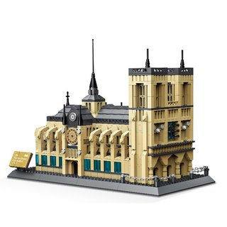 Wange 5210 Architektur Notre-Dame Kathedrale von Paris Klemmbaustein