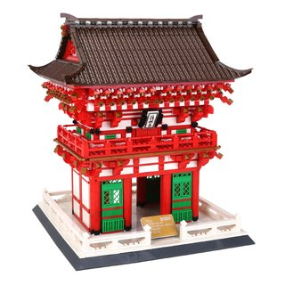 Wange 6212 Architektur Niomon Tor von Kiyomizu-dera Tempel in Kyoto Klemmbaustein