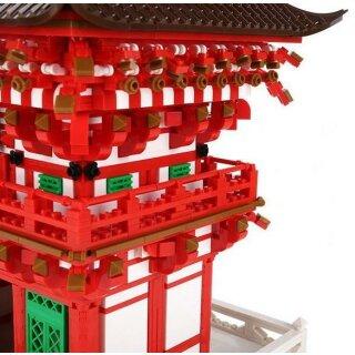Wange 6212 Architektur Niomon Tor von Kiyomizu-dera Tempel in Kyoto