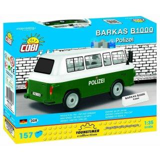 Cobi 24596 Youngtimer Barkas B1000 Polizei
