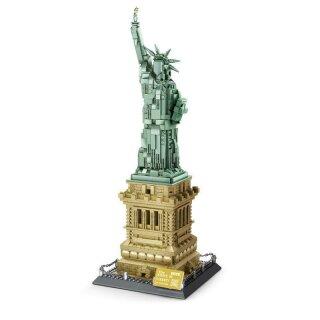 Wange 5227 Architektur Freiheitsstatue von New York Klemmbaustein