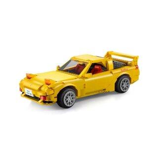 CaDA C61023 Mazda FD3S RX-7 gelb Klemmbaustein