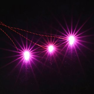 Briksmax BXA13_3 30cm Einzel LED Pink (3 Stück)