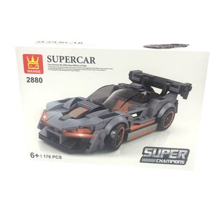 Wange 2880 Supercar Sportwagen Hellgrau