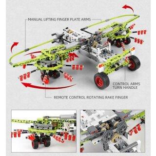 Mould King 17021 Traktor Zubehör Set