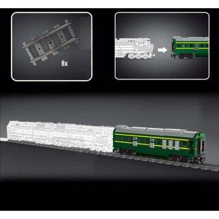 Mould King 12001CX Eisenbahn Anhänger