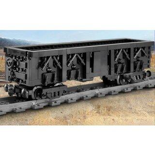 Mould King 12003CX Eisenbahn Anhänger Klemmbaustein