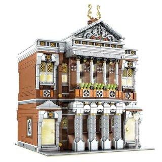 Mould King 16032 Novatown Konzerthalle Klemmbaustein