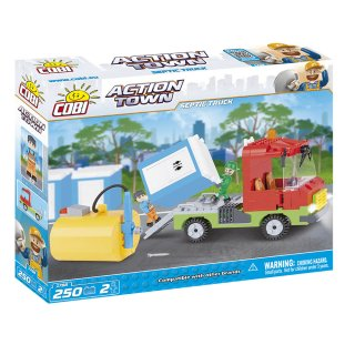 Cobi 1788 Action Town Septic Truck