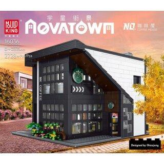 Mould King 16036 Novatown Coffee House Klemmbaustein